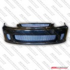 Aerodynamics Backyard Style Front Bumper With Carbon Lip (Civic 99-01 2/3/4dr)