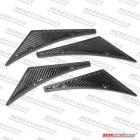 Aerodynamics Front Bumper Splitters Carbon (Universal)