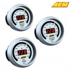 AEM Electronics Oil/Transmission/Water Temperature Gauge 100-300F Digital (Universal)