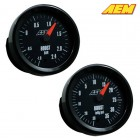 AEM Electronics Boost Gauge Analog Up To 2.4 BAR (Universal)