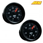 AEM Electronics Boost Gauge Analog  Up To 60 PSI / 4.1 BAR (Universal)