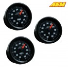 AEM Electronics Oil/Transmission/Water Temperature Gauge 100-300F Analog  (Universal)