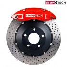 StopTech Sport Big Brake Kit Front Drilled Red (Civic (w/ 262mm) 91-01/Del Sol 92-98/Integra (w/ 262mm) 90-01)