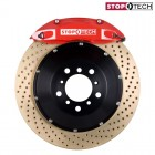 StopTech Sport Big Brake Kit Front Zinc Drilled Red (Civic (w/ 262mm) 91-01/Del Sol 92-98/Integra (w/ 262mm) 90-01)