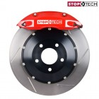StopTech Sport Big Brake Kit Front Slotted Red (Civic (w/ 262mm) 91-01/Del Sol 92-98/Integra (w/ 262mm) 90-01)