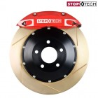 StopTech Sport Big Brake Kit Front Zinc Slotted Red (Civic (w/ 262mm) 91-01/Del Sol 92-98/Integra (w/ 262mm) 90-01)
