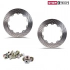 Stoptech Big Brake Replacement Aero-Rotor Friction Rings Drilled (328x28)