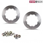 Stoptech Big Brake Replacement Aero-Rotor Friction Rings Slotted (328x28)