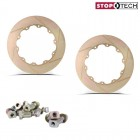 Stoptech Big Brake Replacement Aero-Rotor Friction Rings Zinc Slotted (328x28)