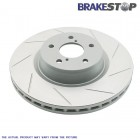 BrakeStop Brake Discs Rear (Civic/CRX 87-93 1.6i VTEC/Civic 91-01 ESi/VTi/Del Sol)