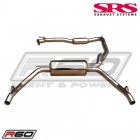 SRS Exhaust Systems R60 Catback System TÜV (Civic 07-12 3dr Type-R)