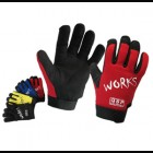 QSP Precurved Mechanic Gloves (Universal)
