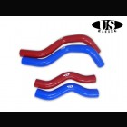 SALE! US-Racing Silicone Radiator Hoses Blue (Civic 06-11 3/5dr Type S)