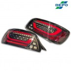 Depo Full LED Tail Lights Black (S2000)