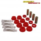 SALE! Energy Suspension Rear Lower Control Arm Bushings Red (Civic 89-96/CRX 89-93)