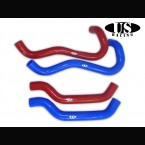 US-Racing Silicone Radiator Hoses Red (Civic FN2)